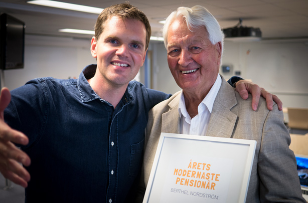 Kjell Eriksson utser Berthel Nordström till Årets Modernaste Pensionär 2013