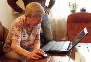 Dagny Carlsson är 101 år och bloggar och är nu nominerad till årets modernaste pensionär