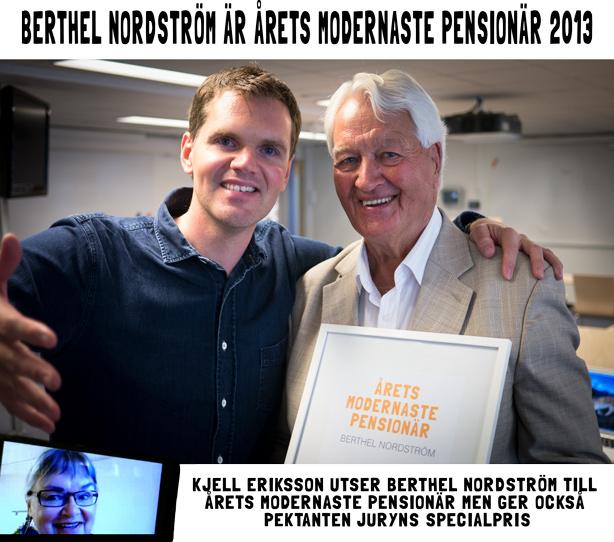 Årets Modernste Pensionär 2013