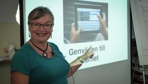 Pektanten Christina Ternström Frostegren är nominerad till Årets Modernaste Pensionär