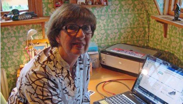 Helga Messel är nominerad till årets modernaste pensionär.